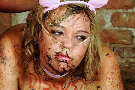 pics humiliation Pig nose porn