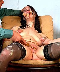 Isabels Messy Humiliation