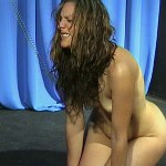 sweet looking babe humiliated like a dog